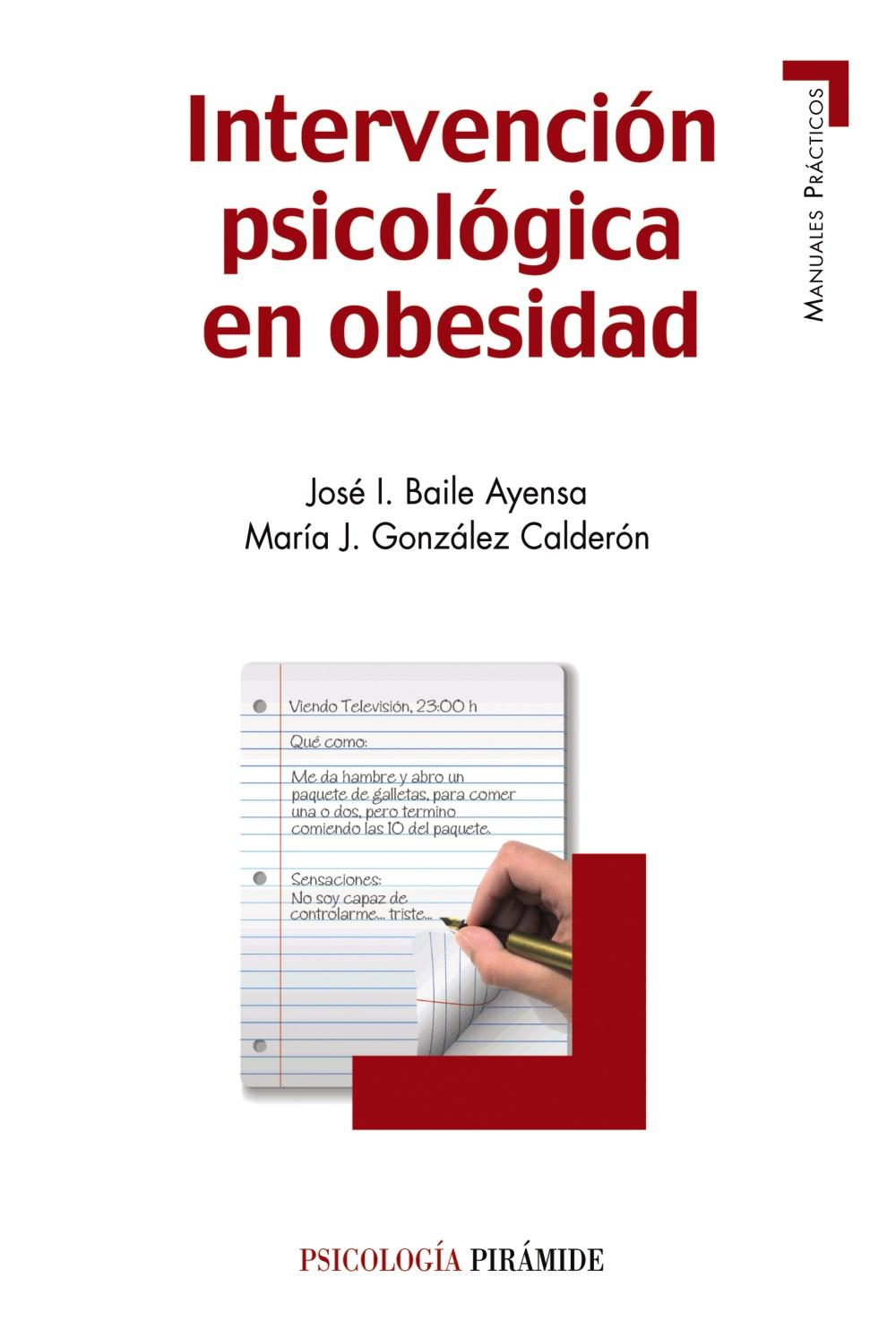 Intervención psicológica en obesidad (ebook)