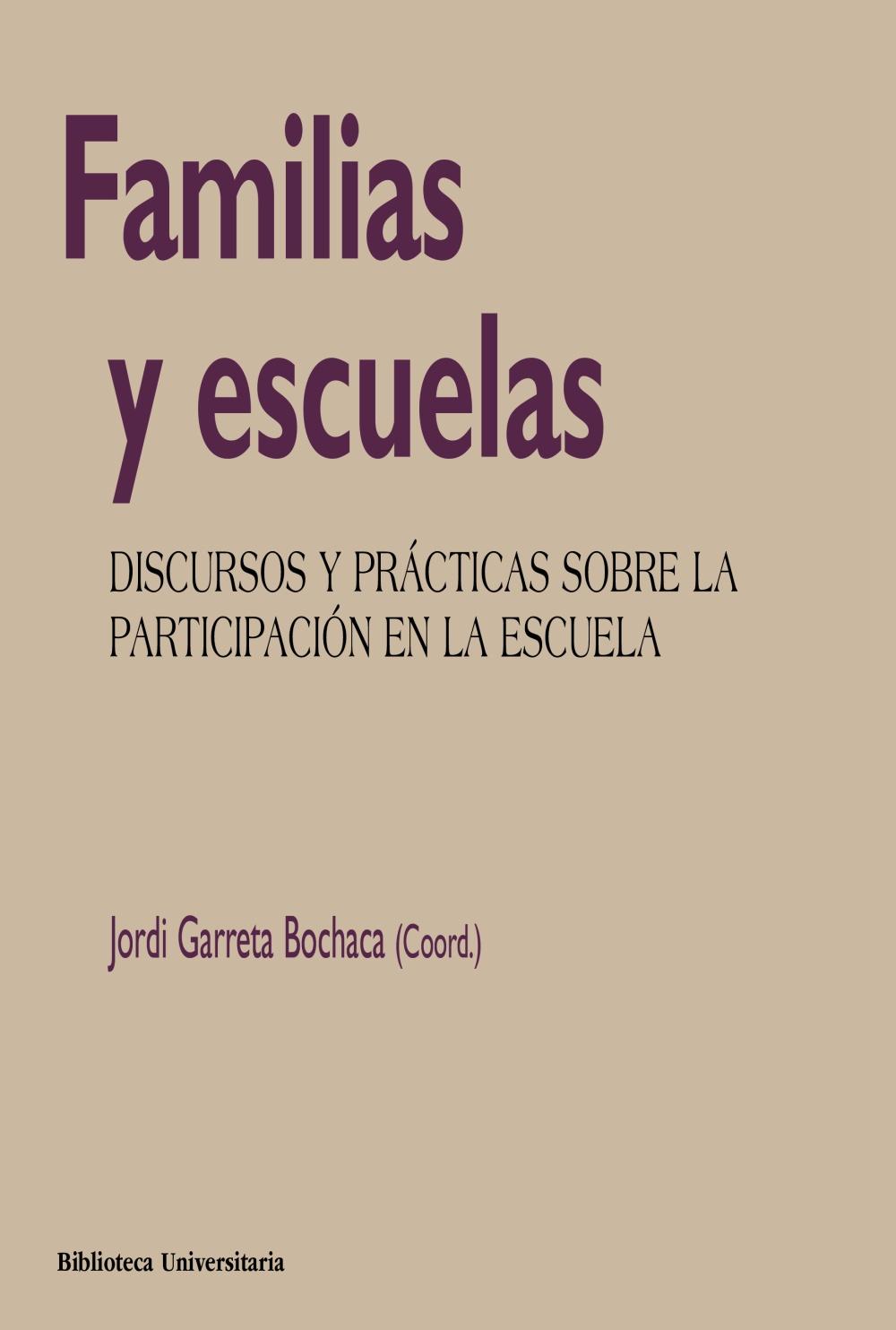 Familias y escuelas (ebook)