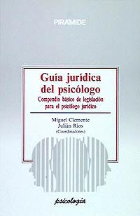 Guía jurídica del psicólogo