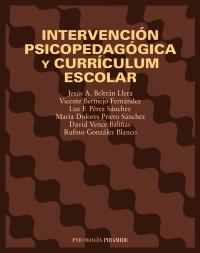 Intervención psicopedagógica y currículum escolar