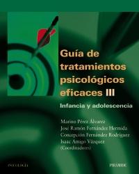 GUIA DE TRATAMIENTOS PSICOLÓGICOS EFICACES III