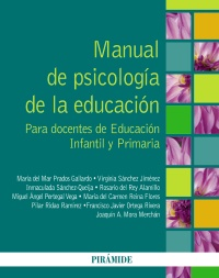 Manual de psicolog�a de la educaci�n